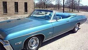 1968 Chevrolet Impala Ss 427 Convertible For Sale