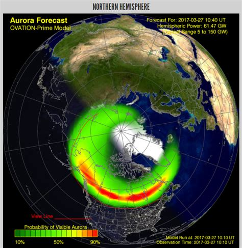 when can you see the northern lights in michigan in photos solar storm produces bright northern lights