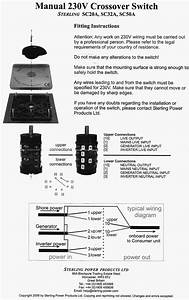Sterling Power 32 Amp Transfer Switch