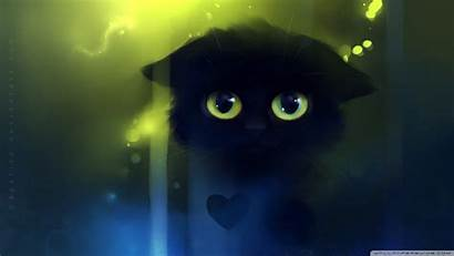 Sad Painting Kitty Wallpapers Laptop Background 4k