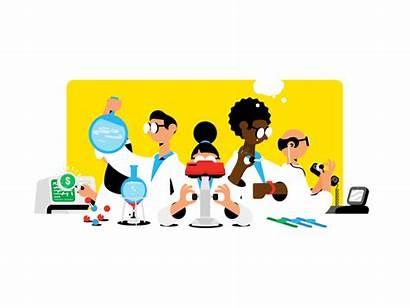 Lab Gifs Gadget Animation Company Fun Super