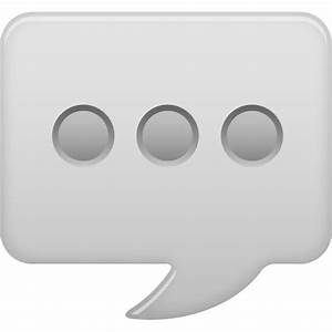 message bubble icon free download as PNG and ICO formats ...