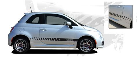 Fiat 500 Graphics by 2012 Fiat 500 Quot Strobe Quot Graphics Kit