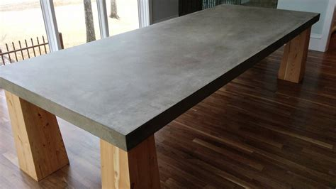 We've Been Noticing An Increased Demand For Cement Table