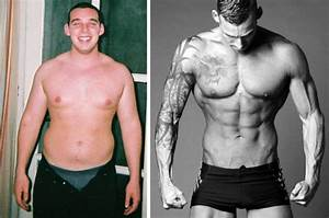 Weight Loss Pictures Of Dan Davidson Who Posed Like David