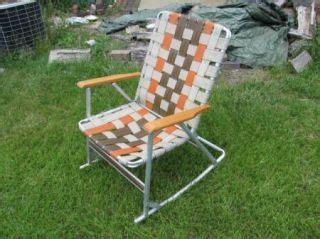 Webbed Lawn Chair Rocker by Lawn Chairs Folding Rocker On Popscreen