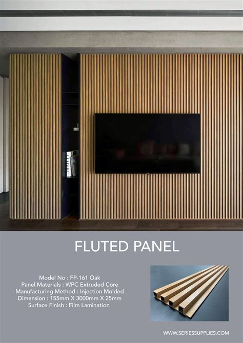 create clean crisp continuous channels  shadow lines  fluted panel  innovative