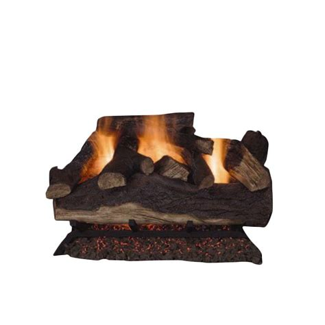 emberglow lanier oak   vented natural gas fireplace