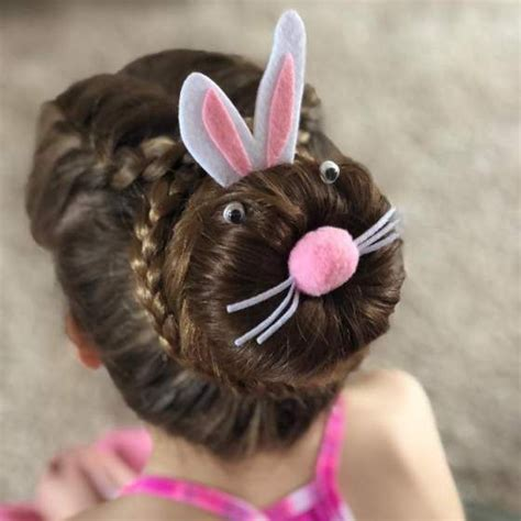 Easy and chic hairstyle for long hair. 25 Cute Easter Hairstyles for Kids which are insanely easy, effortless & egg-citing   Braids for ...