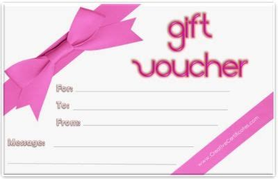 gift voucher template  gift certificate template