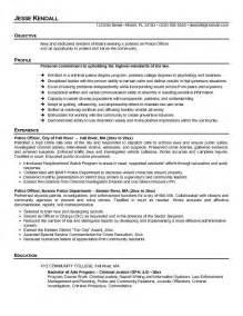 Officer Resume by Free Officer Resume Templates Http Www Resumecareer Info Free Officer Resume