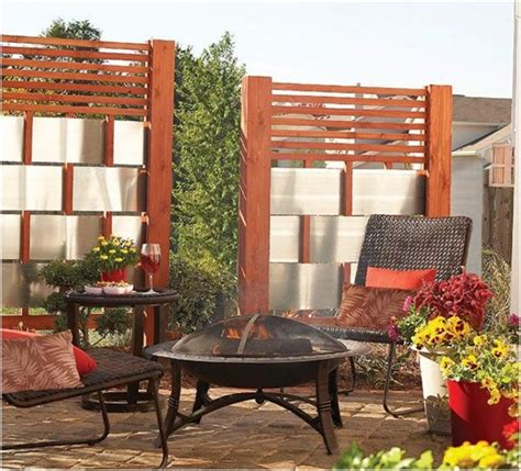 diy privacy screens  spending peaceful days   patio