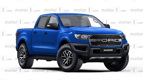 concept ranger ford ranger raptor rendered ready to rival colorado zr2