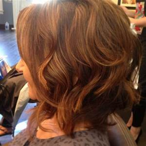 Chocolate brown hair color with light brown highlights and ...
