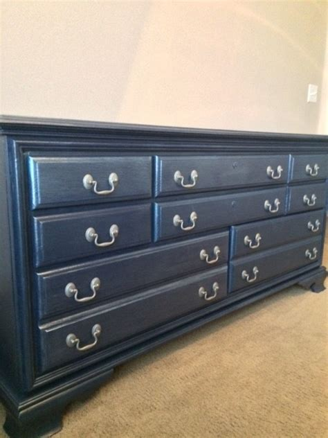 painted bedroom furniture navy blue