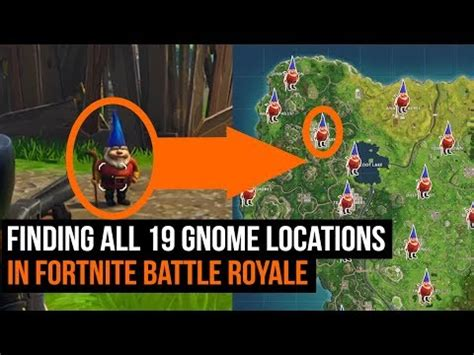 All 19 Gnome Locations In Fortnite  Season 3 Challenges