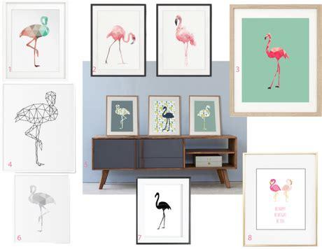 tendance jungle nature luxuriante et camaïeu de verts déco flamant flamingo around the corner