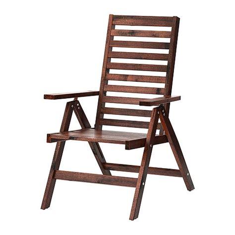 chaise pliable ikea äpplarö chaise dossier réglable extérieur pliable
