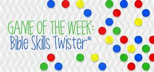 Game of the Week: Bible Skills Twister! | Christian Youth ...
