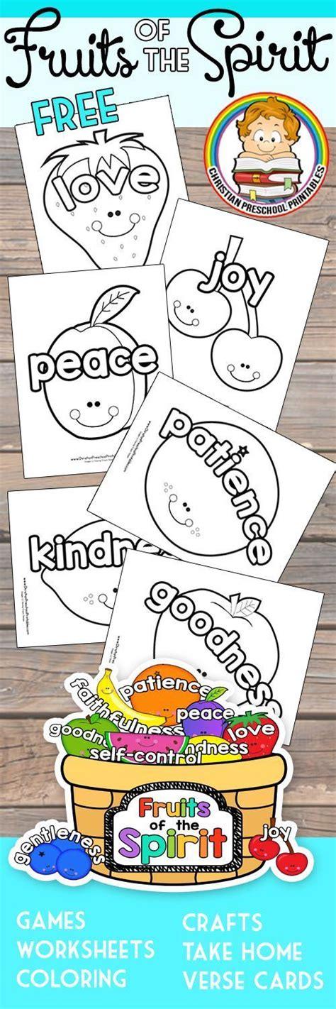 25 best ideas about kindergarten sunday school on 488 | ec01543703bb30794c2c2a3b50109255 fruits of the spirit craft fruit spirit