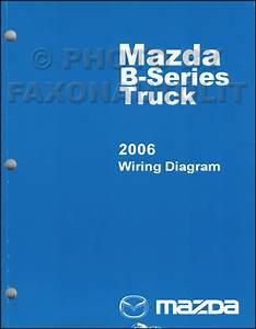 2006 Mazda Pickup Truck Repair Shop Manual Original B2300