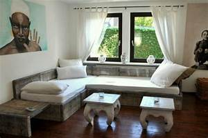 Couch Aus Paletten : diy sofa aus palettengeschnackvoll ~ Whattoseeinmadrid.com Haus und Dekorationen