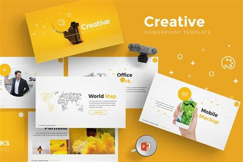 creative powerpoint template  aqrstudio  envato elements
