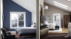 Farben Für Kleine Räume Mit Dachschräge : schlafzimmer mit dachschr ge sch ne gestaltungsideen ~ Markanthonyermac.com Haus und Dekorationen