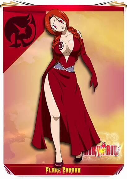 Flare Corona Fairy Tail Deviantart Anime フレア