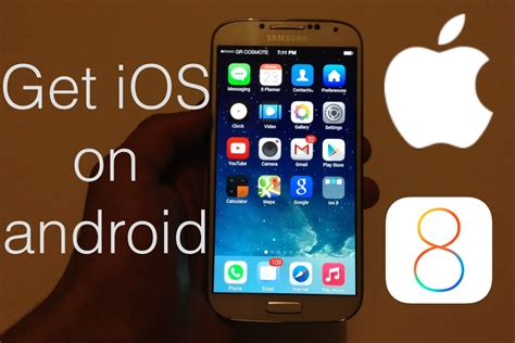 how to make fan work on android how to make your android look like ios 8 works on any