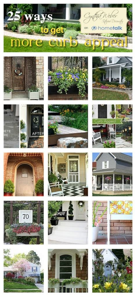 25 Ways To Get More Curb Appeal…