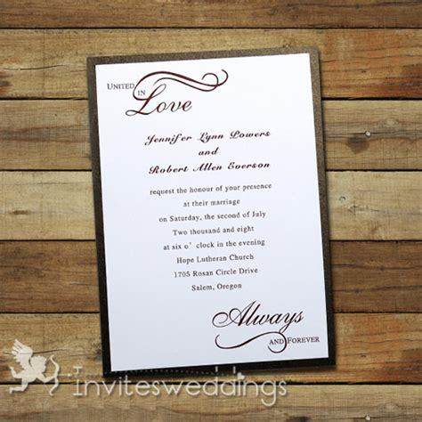 classic wedding invitations simple wedding invitations cheap invites at invitesweddings