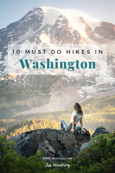 washington hikes travel state destinations jessdales lake