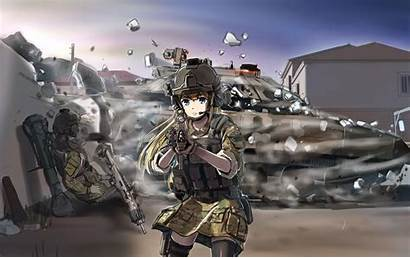 Anime Tactical Gear War Arma Wallpapers Armed
