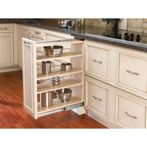 base cabinet pull out shelves rev a shelf 30 in h x 9 in w x 23 in d pull out between