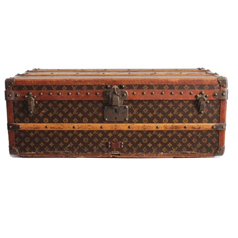 vintage louis vuitton cabin trunk  insert monogram canvas  saks  ave  stdibs