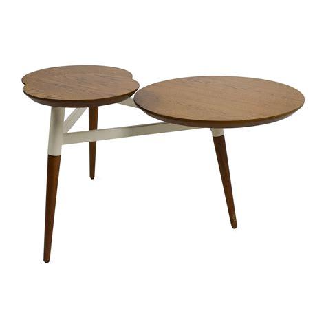 west elm end table 56 off west elm west elm clover coffee table tables