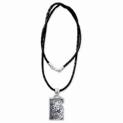 Polyvore Necklace Necklaces Leather