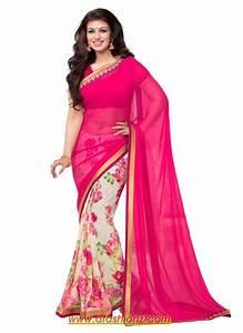Saree & Lehenga With Blouse Dress Designs For Girls 2015-16