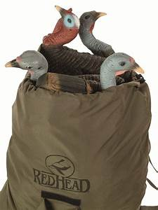 New Redhead Turkey Decoy Bagpack Makes Carrying Decoys