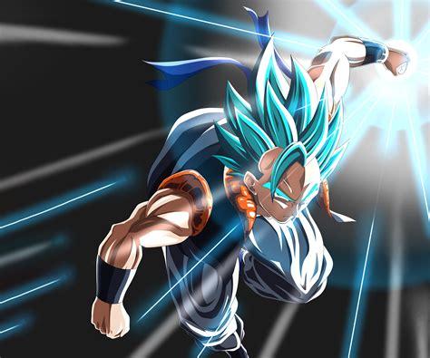 gogeta ssj blue  ultra hd wallpaper background image