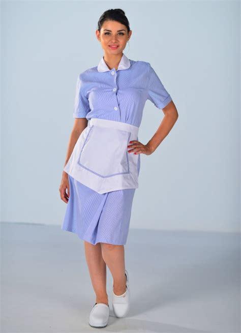 femme de chambre blouse femme de chambre à manches courtes bleu ciel carlton
