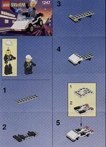 LEGO Police Car Instructions 1247, City