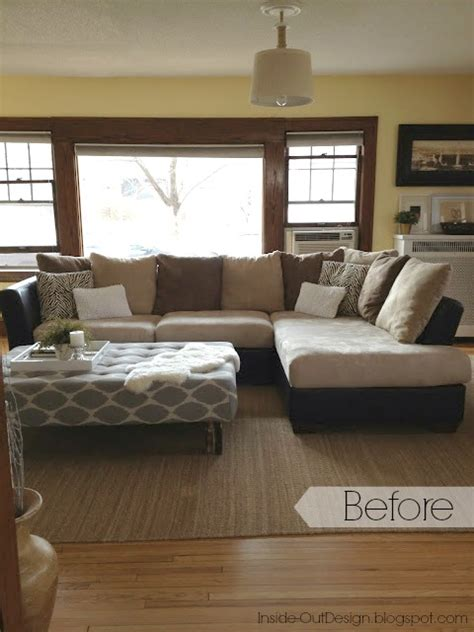 Recovering A Settee by Hometalk How To Re Cover A Microfiber Sectional