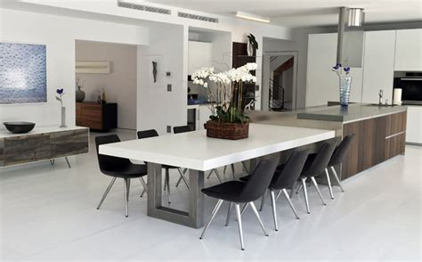 beautiful dining rooms incorporating concrete