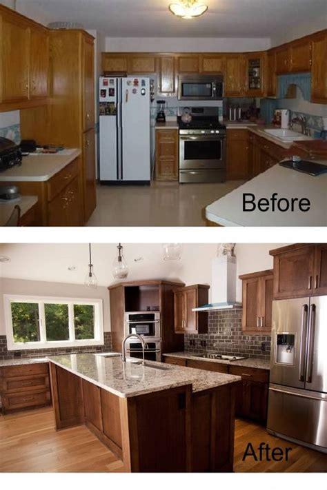kitchen makeover before and after pictures ideas para remodelaci 243 n de cocinas antes y despues 16 9490