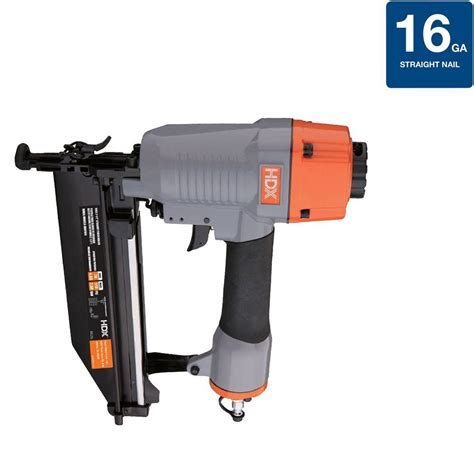 home depot flooring nailer hdx pneumatic 16 nailer hdxfn64 the home