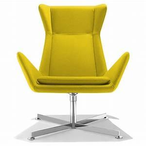 fauteuil de bureau design jaune free sur cdc design With fauteuil design bureau