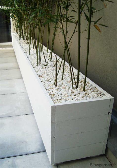bacs plantes bois sur mesure marseille diy jardins planters et balcons