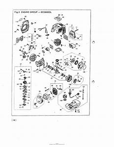 Red Max Bc2600dl-05  95 Serial No  None Date 05  95 Parts Diagram For 016